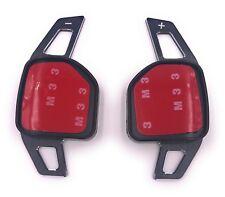 Seat Leon 5F auch Cupra DSG Schaltwippen Shift Paddle Alu black gebürstet TYP A