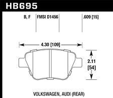 Hawk HPS 5.0 Rear Brake Pads For 08-15 Audi / Volkswagen #HB695B.609