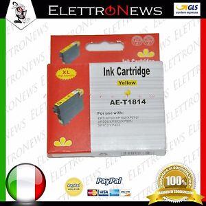 Cartuccia Cartridge Compatibile per Epson XP30 102 202 205 302 305 402 405 YELLO