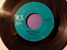 FRANK LUCAS / Good Thing Man - I Want My Mule Back / ICA / 45rpm Vinyl