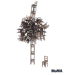 MoMA Las Sillas Chair Stacking Game Museum of Modern Art Pico Pao Collectible