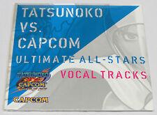 Tatsunoko vs. Capcom Ultimate All-Stars Vocal Tracks Music CD Japan All Stars