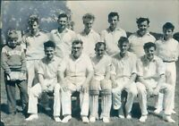 1989 Preesall 2nd 11 Team Fylde Amateur Cricket League Press photo 8*5.5""