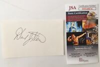 David Stern Signed Autographed 3x5 Card JSA Certified NBA Commissioner HOF