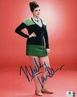 Molly Tarlov Hand Signed Autographed 8x10 Photo Sexy Awkward GA 758029