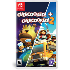 Overcooked 1 + Overcooked 2 Bundle Switch NEW FREE US SHIPPING
