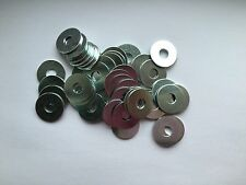 M8 Penny Washers BZP Pack of 50 Outer Diameter 25mm New Free P&P Kart Parts UK