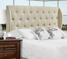 Candace & Basil Moreno Queen/Double Headboard, Beige