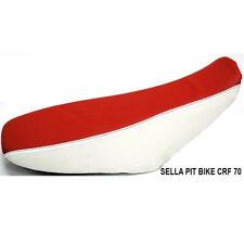 Sella Bianco-Rossa Per Carena CRF 70 Pit Bike