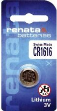 CR1616 Coin Battery / Lithium 3V / For Watches, Torches, Car Keys, Calculators,