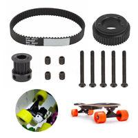 DIY Electric Skateboard Parts Pulley & Belt Kit Single Drive For 72/70MM Wheel