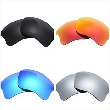 Set of 4 Pairs Replacement Lenses Lens for Oakley Flak Jacket XLJ Sunglass Frame