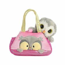 Aurora World Fancy Pals Peek-A-Boo Owl Pet Carrier Free Shipping