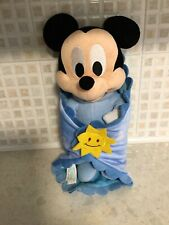 Disney Babies Micky Mouse Plush Soft Toy With Comfy Blanket