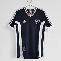 1998 Yugoslavia Home Retro Soccer Jersey