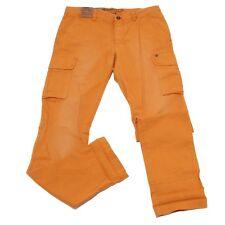 1806W pantalone uomo MASON'S orange cotton trouser pant man