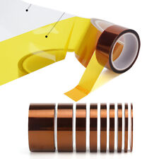 10 Meter 3mm Width Heat Resistant Tape Kapton Polyimide Insulation Double Sided
