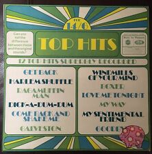 Top Hits- Mfp 1319 TESTED EX+ Music For Pleasure LP U.K. 1970's Pressing