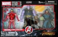 THANOS & IRON MAN L & DOCTOR STRANGE MARVEL STUDIO LEGENDS INFINITY WAR FIGURE