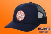 New Hurley Del Sol Sun Waves Womens Snapback Trucker Hat Cap