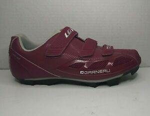 NEW Louis Garneau HRS-80 Women's Road Bike Shoes 10 US /41 EU Purple LG-17-10 DX