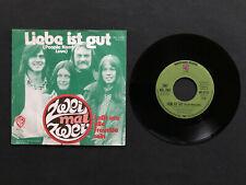 "Zwei Mal Zwei - Liebe ist gut (People need Love) (7"" Singles) ABBA COVERVERSION"
