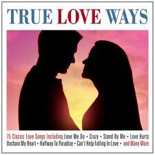 TRUE LOVE WAYS 3 CD NEW+ ROY ORBISON/ELVIS PRESLEY/TOMMY BOYCE/TINA ROBIN