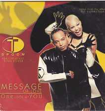 T Spoon-Message Of Love cd single