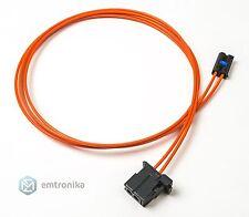 BMW F20 F30 POF MOST 6WA 6WB retrofit optical cable Lichtleiter LWL Stift 100 cm
