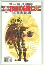 TANK GIRL the ROYAL ESCAPE #1-4 Rufus Dayglo IDW Comics COMPLETE NM (9.4) SET