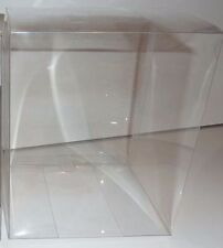"2 x 6"" Clear Single Cupcake Boxes. Plastic PVC Muffin Size Crystal"