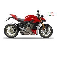 """Bandiere tricolore italiano per alette moto Ducati Streetfighter V4S """"V1020"""""""