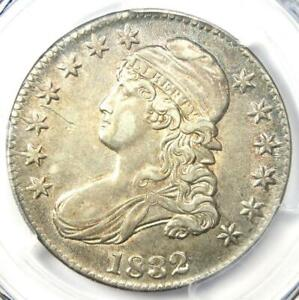 1832 Capped Bust Half Dollar 50C - PCGS AU Details - Rare Certified Coin!