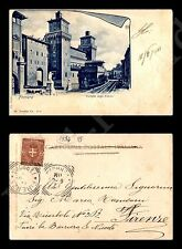 Ferrara - Castello degli Estensi - 12.6.1901