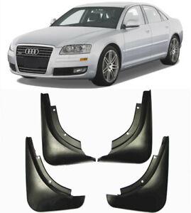 4Pcs Car Mud Flaps Splash Guards Fender Mudguard for Audi A8 A8 L 2004-2010