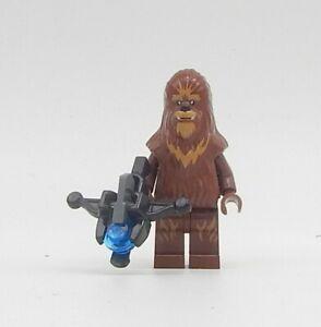 Lego Star Wars Wookiee mit Bowcaster Figur - Minifigur