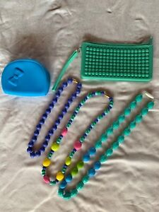 Silicone Teething Necklace set