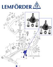 OEM VW T4 Transporter Van Caravelle Lower Ball Joints 1996-2004 LEMFORDER