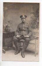 WW1 London Rifle Brigade Military Soldier Swagger Stick Printed Llandudno