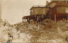 RPPC RP NY LEWISTON NIAGARA RIVER ICE JAM HOTEL CORNELL 4/10/1909