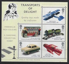 Great Britain 2003 Classic Transport Toys MS Stamp Set