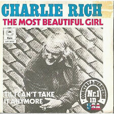 Vinyle 45 T, Charlie Rich, The Most Beautiful Girl