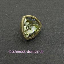 MelanO Twisted - Aufsatz Triangel 12 mm Citrin / Edelstahl GELBGOLD