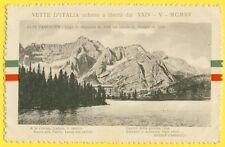 cpa Cachet POSTA MILITARE 1916 Vette d'ITALIA ALPI CADORINE Lago di Misurina