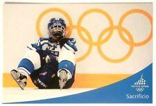 Cartolina Olimpiadi Torino 2006 - Emozione Olimpica - Sacrificio