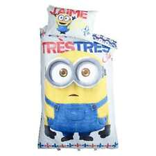 DESPICABLE ME MINION DOUBLE bed QUILT DOONA COVER SET NEW
