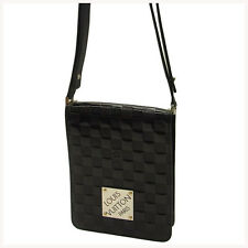 Louis Vuitton Shoulder bag Damier Vernis Black Woman Authentic Used Y065
