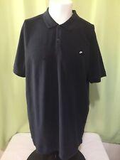 Nike Golf Tour Performance Dri Fit Men's Black Polo Shirt Size Xl