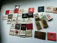 Casino Atlantic City Matchbooks (Lot Of 36) Trump, Sands, Showboat, Bally's RARE