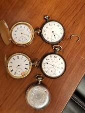 Rare Lot of Antique Pocket Watches and Shells!!